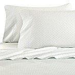 Bellora® Luxury Italian-Made Asami Shibori Queen Sheet Set in Snow