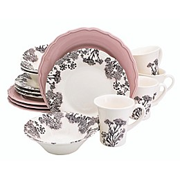 Euro Ceramica Savannah 16-Piece Dinnerware Set