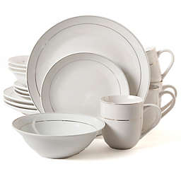 Gibson Home Gold Home 16-Piece Dinnerware Set