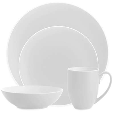 Nambe POP Dinnerware Collection in Chalk