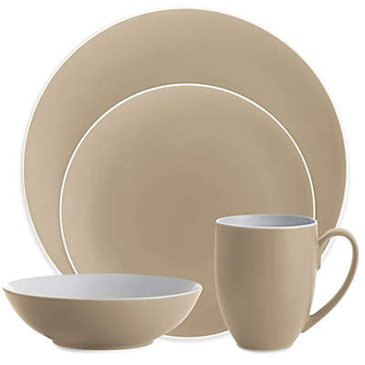 Nambe POP Dinnerware Collection in Sand