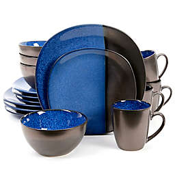 Gibson Elite Volterra 16-Piece Dinnerware Set in Cobalt