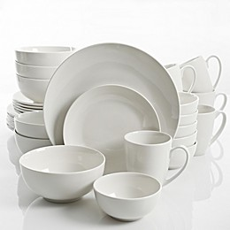 Gibson Home Ogalla 30-Piece Dinnerware Set in White