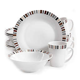 Gibson Home Lanvale 12-Piece Dinnerware Set