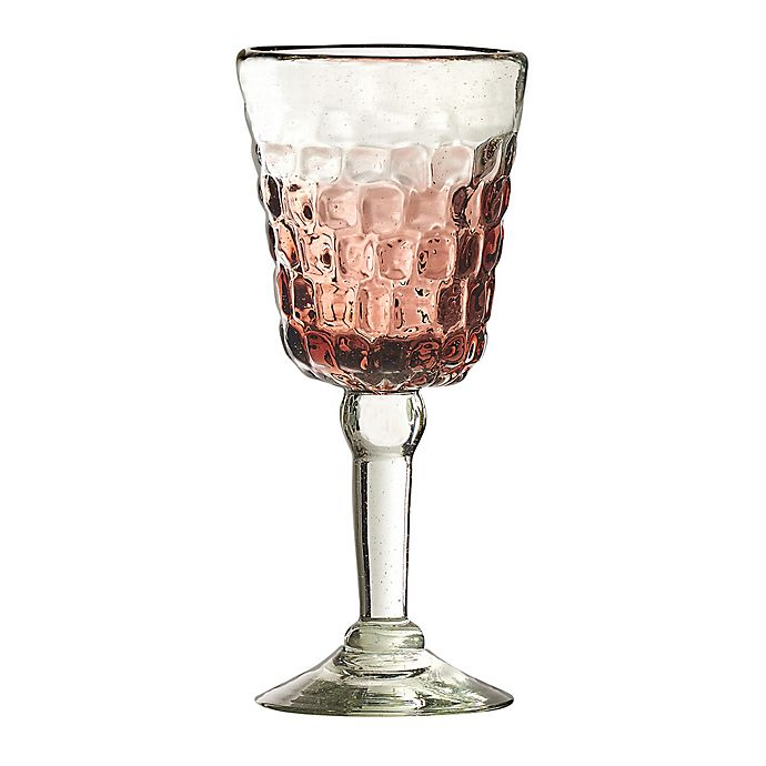 Alternate image 1 for Amici Home Cobblestone Goblets in Amethyst Ombre (Set of 4)