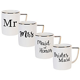 Olivia & Oliver® Wedding Party Mug Collection