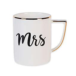 """Olivia & Oliver® """"Mrs"""" Mug in Gold"""