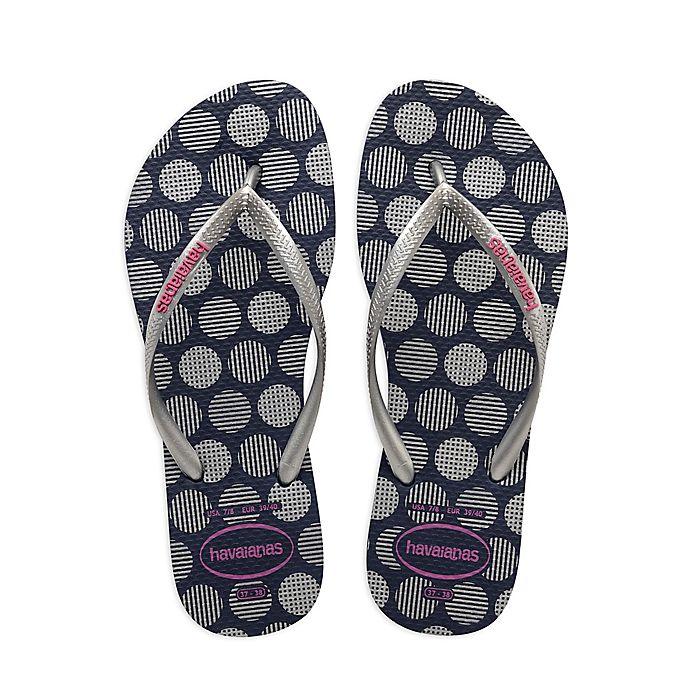 Alternate image 1 for Havaianas® Slim Retro Women's Sandal in Navy