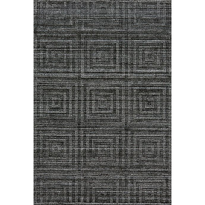 Alternate image 1 for Feizy Greystone 2-Foot 6-Inch x 8-Foot Runner in Grey