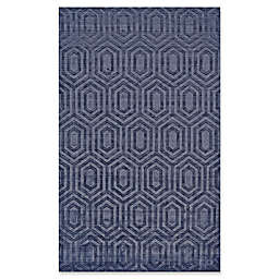 Feizy Greystone Rug in Dark Blue