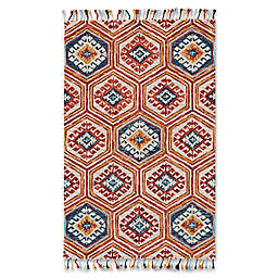 Feizy Bromeliad 8' x 11' Area Rug in Gold