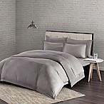 Urban Habitat Comfort Wash King/California King Duvet Cover Set in Grey