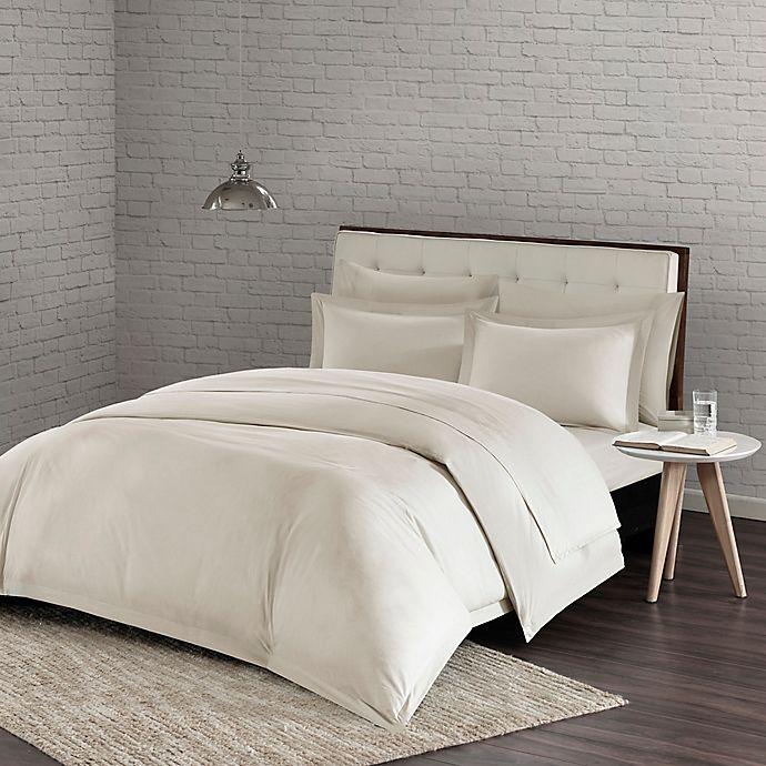 Alternate image 1 for Urban Habitat Comfort Wash King/California King Duvet Cover Set in Ivory