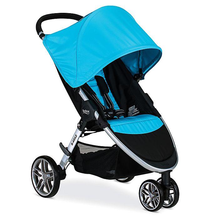 BRITAX 2017 B-Agile 3 Stroller in Blue | buybuy BABY