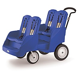 Foundations® Gaggle 4 Multi-Passenger Buggy in Blue