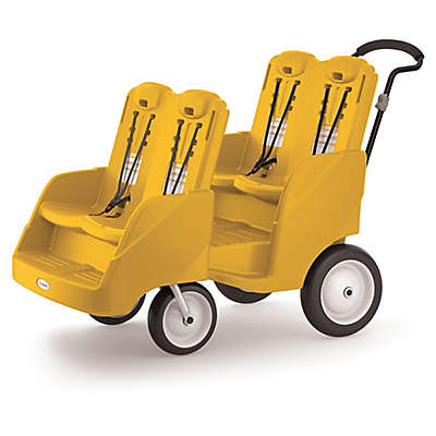 Foundations® Gaggle 4 Multi-Passenger Buggy in Yellow