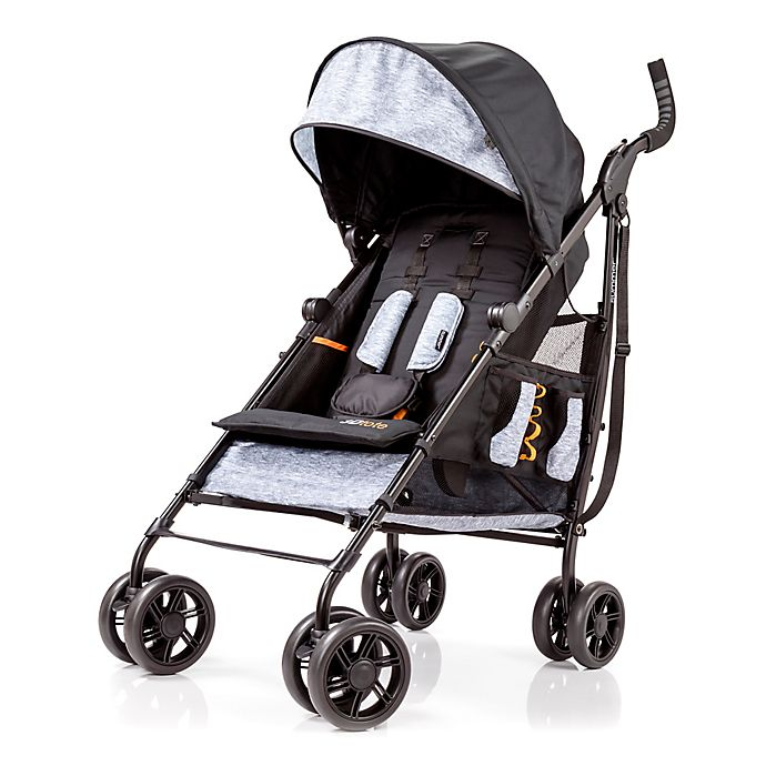 Alternate image 1 for Summer Infant® 3D Tote® Convenience Stroller in Heather Grey