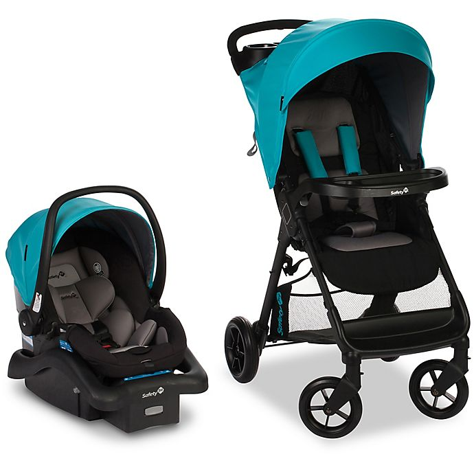 Alternate image 1 for Safety 1st® Smooth Ride Travel System in Lake Blue