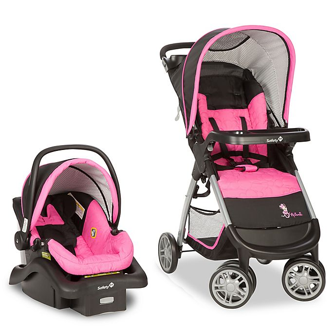 Alternate image 1 for Safety 1st® Disney® Amble Quad™ Travel System in Minnie Mouse