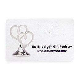 """""""The Bridal & Gift Registry"""" Hearts Gift Card"""