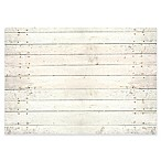 The Softer Side by Weather Guard™ 44-Inch x 69-Inch Whitewash Kitchen Mat