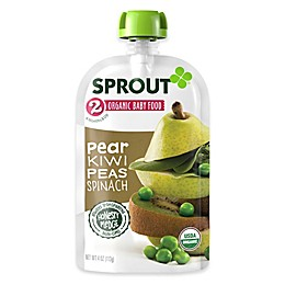 Sprout® 4-Ounce Stage 2 Organic Baby Food in Pear, Kiwi and Spinach