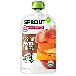 Sprout® 4-Ounce Stage 2 Organic Baby Food in Apricot, Peach and Pumpkin