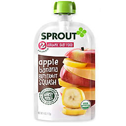 Sprout® 4-Ounce Stage 2 Organic Baby Food in Apple, Banana and Butternut Squash