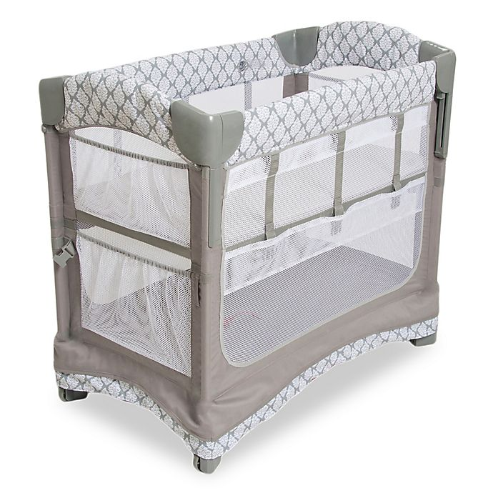 Alternate image 1 for Arm's Reach® Co-Sleeper® Mini Ezee™ 3-in-1 in Acanthus