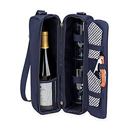 Picnic at Ascot Sunset Wine Tote for 2 with Glasses Collection