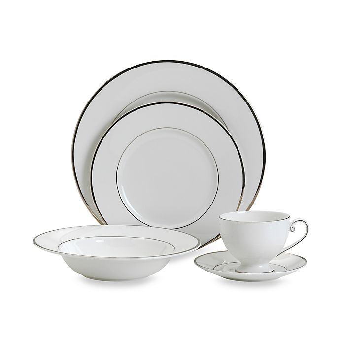 Alternate image 1 for Mikasa® Cameo Platinum Dinnerware Collection