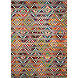 Safavieh Monaco Diamonds 10-Foot x 14-Foot Area Rug in Beige