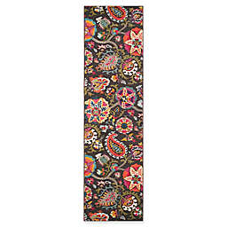 Safavieh Monaco Floral 2-Foot 2-Inch x 12-Foot Runner in Brown
