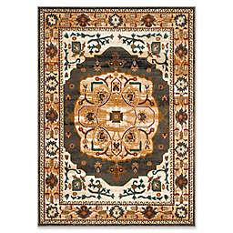 Safavieh Summit Kaleidoscope 6-Foot 7-Inch x 9-Foot 2-Inch Area Rug in Grey/Ivory