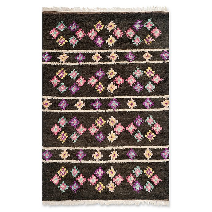 Alternate image 1 for Safavieh Kenya Floral 9-Foot x 12-Foot Multicolor Area Rug