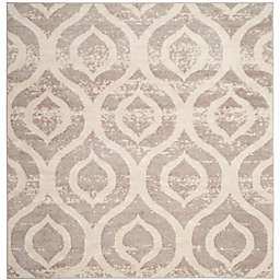 Safavieh Amsterdam Trellis 6-Foot 7-Inch Square Area Rug in Mauve
