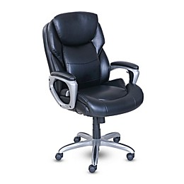Serta® My Fit Office Chair with Active Lumbar Support in Black