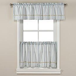 Harbor Knots Window Curtain Panels and Valance