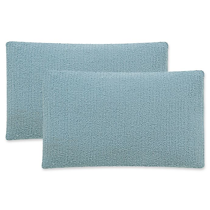 Alternate image 1 for Safavieh Soleil 12-Inch x 20-Inch Solid Oblong Throw Pillows (Set of 2)
