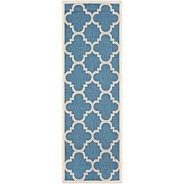 Safavieh Courtyard Quatrefoil Indoor/Outdoor Rug