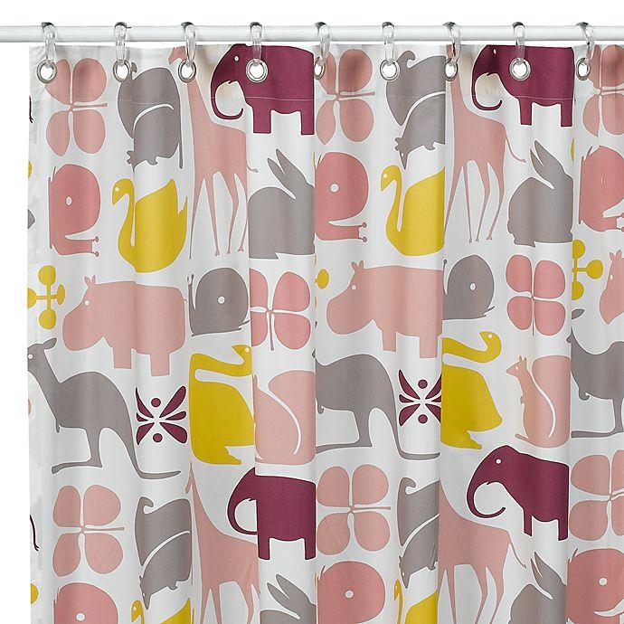 DwellStudioTM Gio Lemon Fabric Shower Curtain