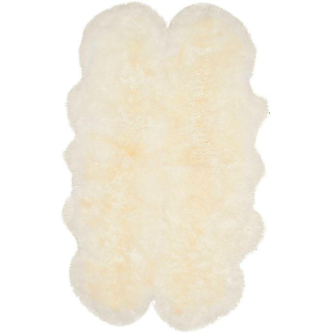 Alternate image 1 for Safavieh Sheepskin 3'7 x 5'11 Area Rug in White