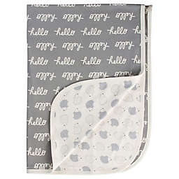 Gerber® Hello Hedgehog Organic Cotton Reversible Receiving Blanket