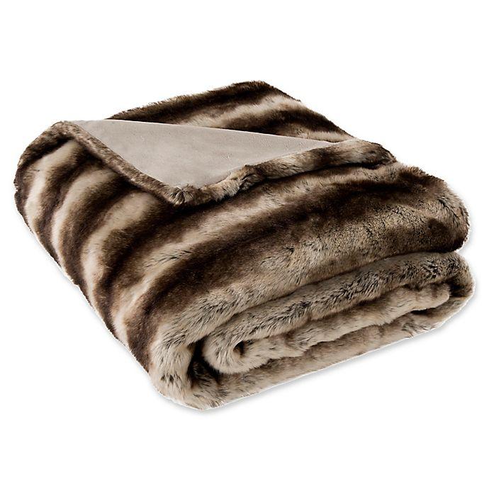 Alternate image 1 for Safavieh Coco Striped Throw Blanket