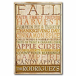 Courtside Market Fall Harvest Canvas Wall Art