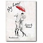 Courtside Market To My Love Canvas Wall Art