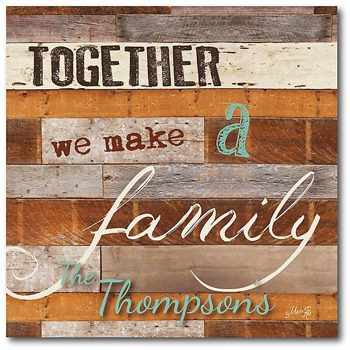 Alternate image 1 for Courtside Market Together Family Canvas Wall Art