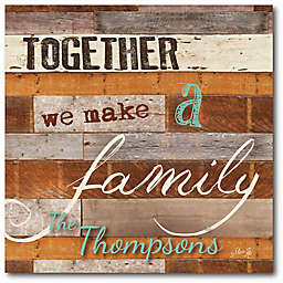 Courtside Market Together Family Canvas Wall Art