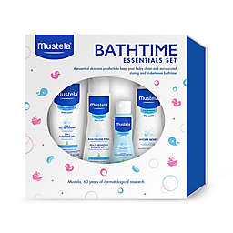 Mustela® 4-Piece Bathtime Essentials Gift Set