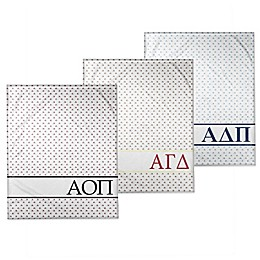 Designs Direct Sorority Triangle Throw Blanket Collection